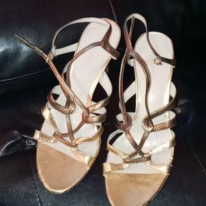 Nine west strappy heels!